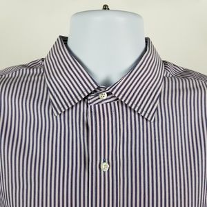 Brooks Brothers Regent Non Iron Striped 16.5 6/7